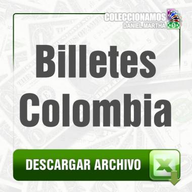 Listado de Billetes de Colombia