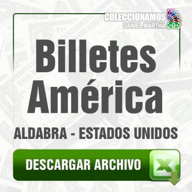Listado de Billetes de América 1