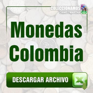 Listado de Monedas de Colombia