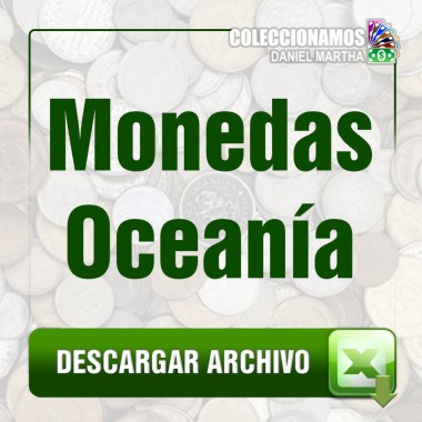 Listado de Monedas de Oceanía