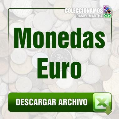 Listado de Monedas de Euro