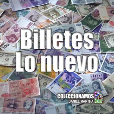Novedades - Billetes recién llegados