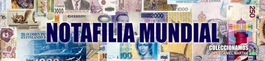 Billetes de Billetes del Mundo Notafilía