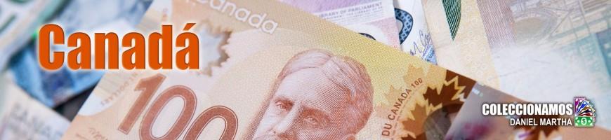 Billetes de Canadá