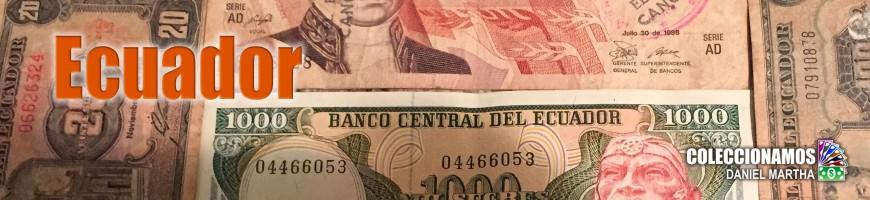 Billetes de Ecuador