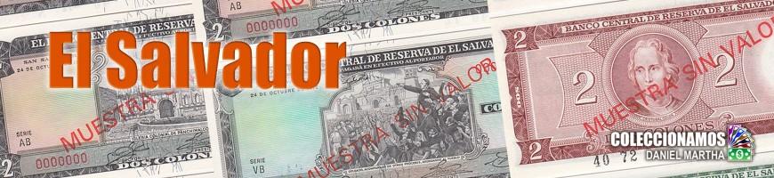 Billetes de El Salvador