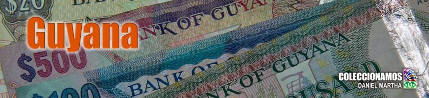 Billetes de Guyana