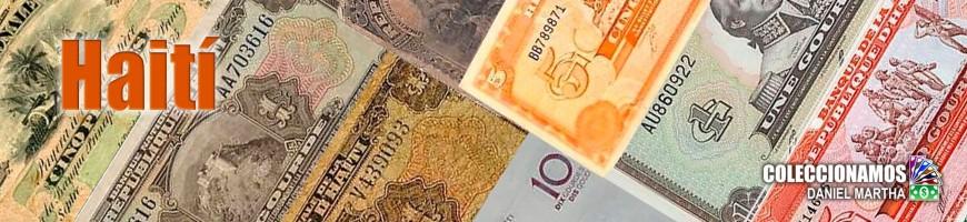 Billetes de Haití