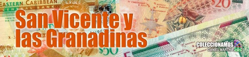 Billetes de San Vicente y las Granadinas