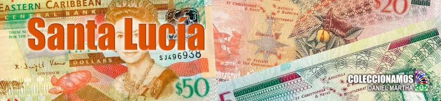 Billetes de Santa Lucía