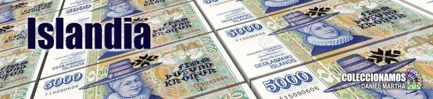 Billetes de Islandia