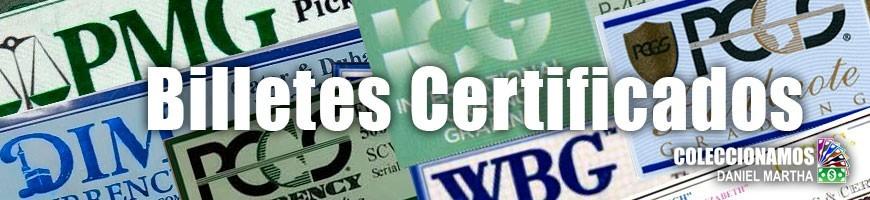 Billetes certificados
