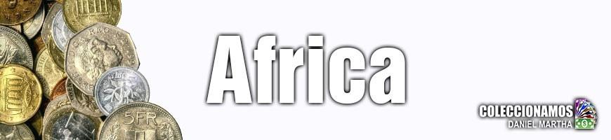 Monedas de Africa