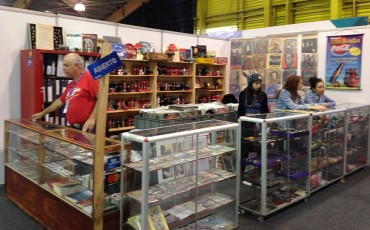 El stand de los recuerdos / Feria del Libro 2012