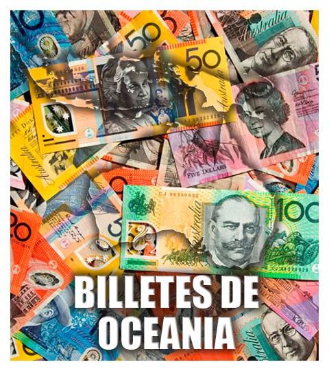 Billetes de Oceanía